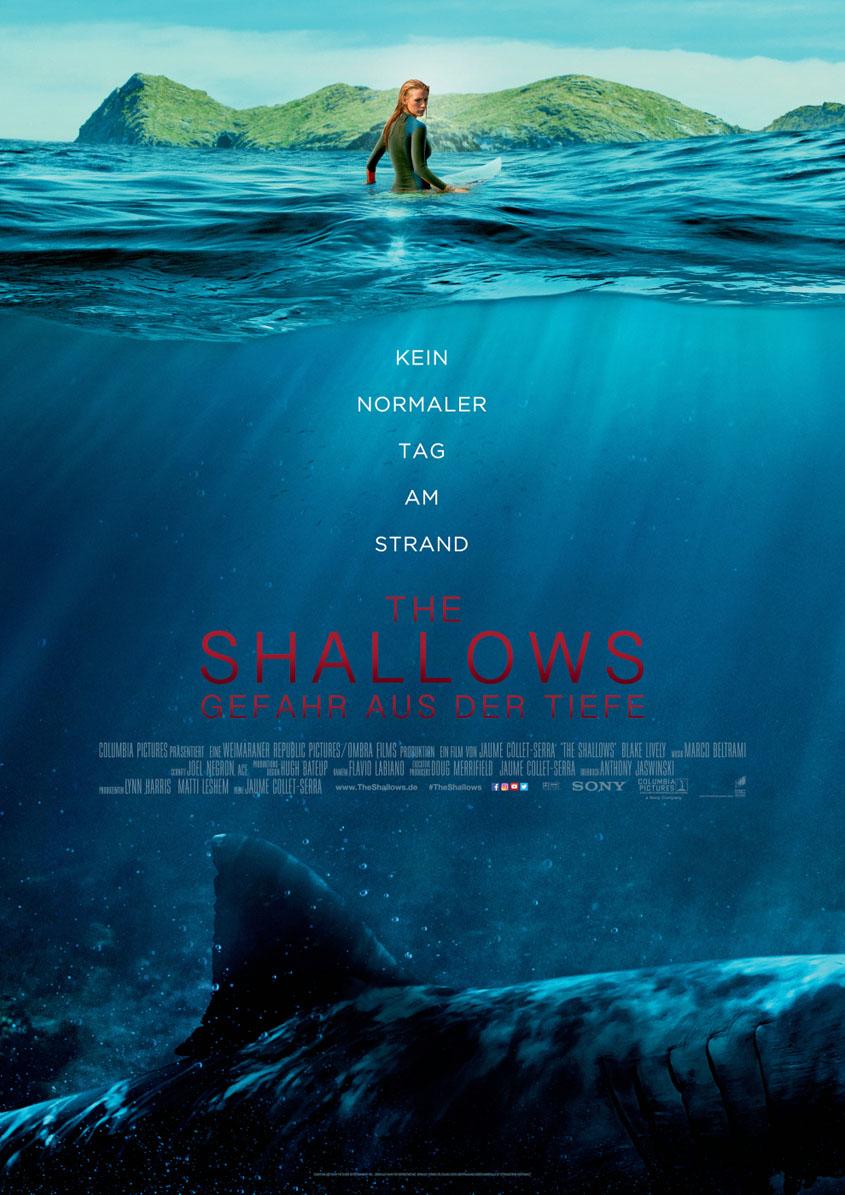 The Shallows- Gefahr aus der Tiefe - Plakat