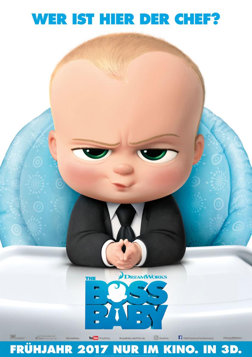 Boss Baby - Plakat