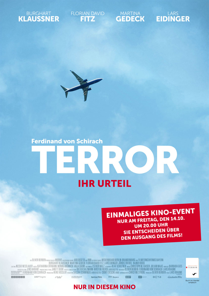 TERROR-IHR-URTEIL-Plakat