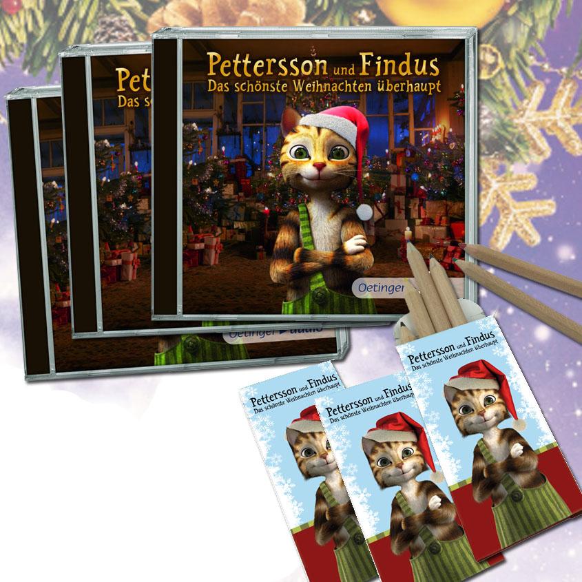 Pettersson und Findus- das schönste Weihnachten überhaupt - Gewinne