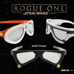 ROGUE ONE - STAR WARS STORY- limitierte 3D-Brillen
