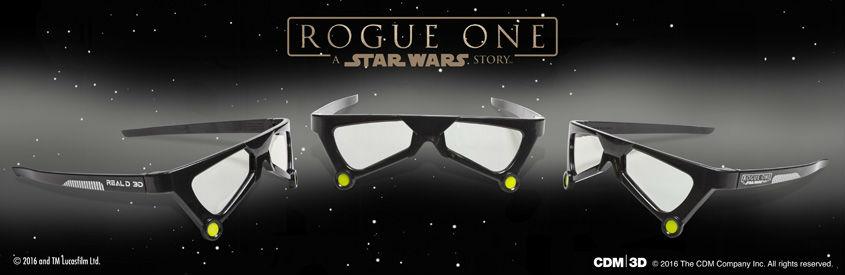ROGUE ONE - STAR WARS STORY- limitierte 3D-Brillen Death Trooper