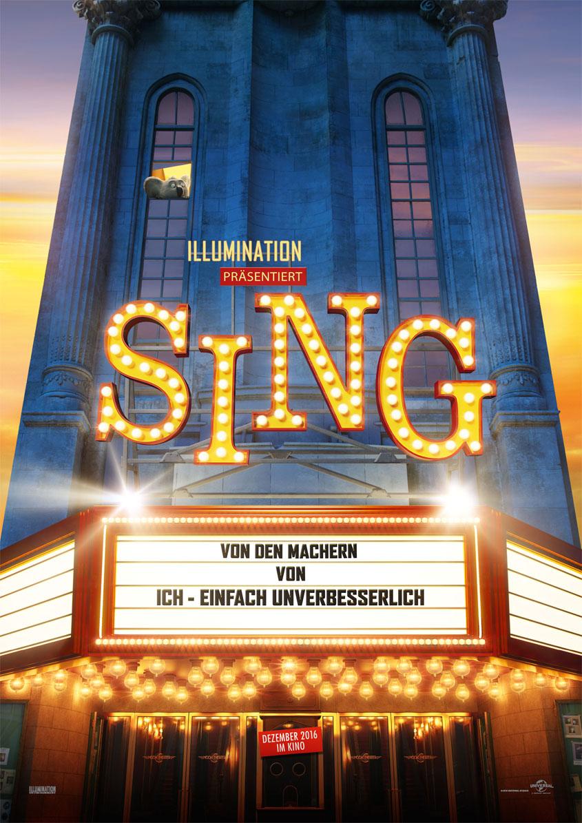 Sing- Plakat