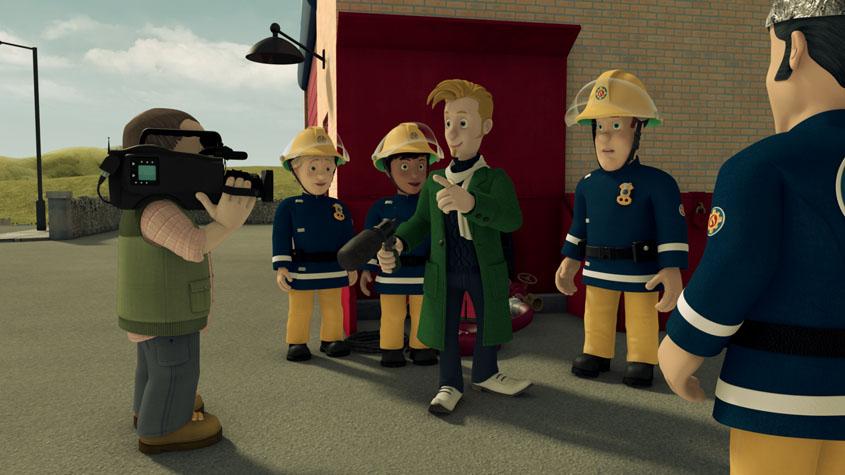 Feuerwehrmann Sam- Achtung Außerirdische - Szenenbild 1