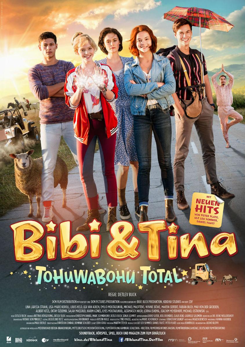 BIBI UND TINA TOHUWABOHU TOTAL - Plakat