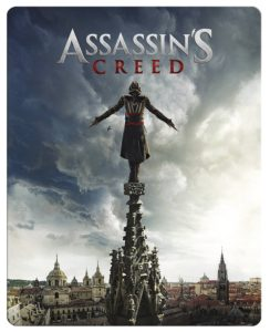 Assassins Creed- Steelbook Blu-ray