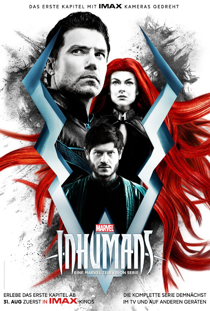 Marvels INHUMANS IMAX-Poster