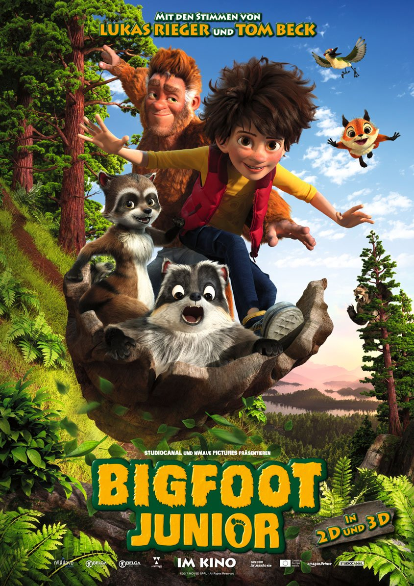 Bigfoot Junior 3D - Plakat