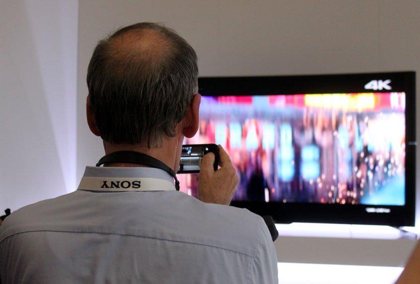 IFA Berlin 2017 -Sony 4K TV