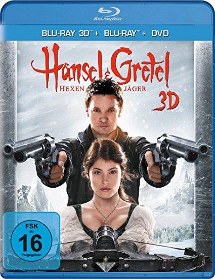 Hexenjäger- Cover- Blu-ray 3D