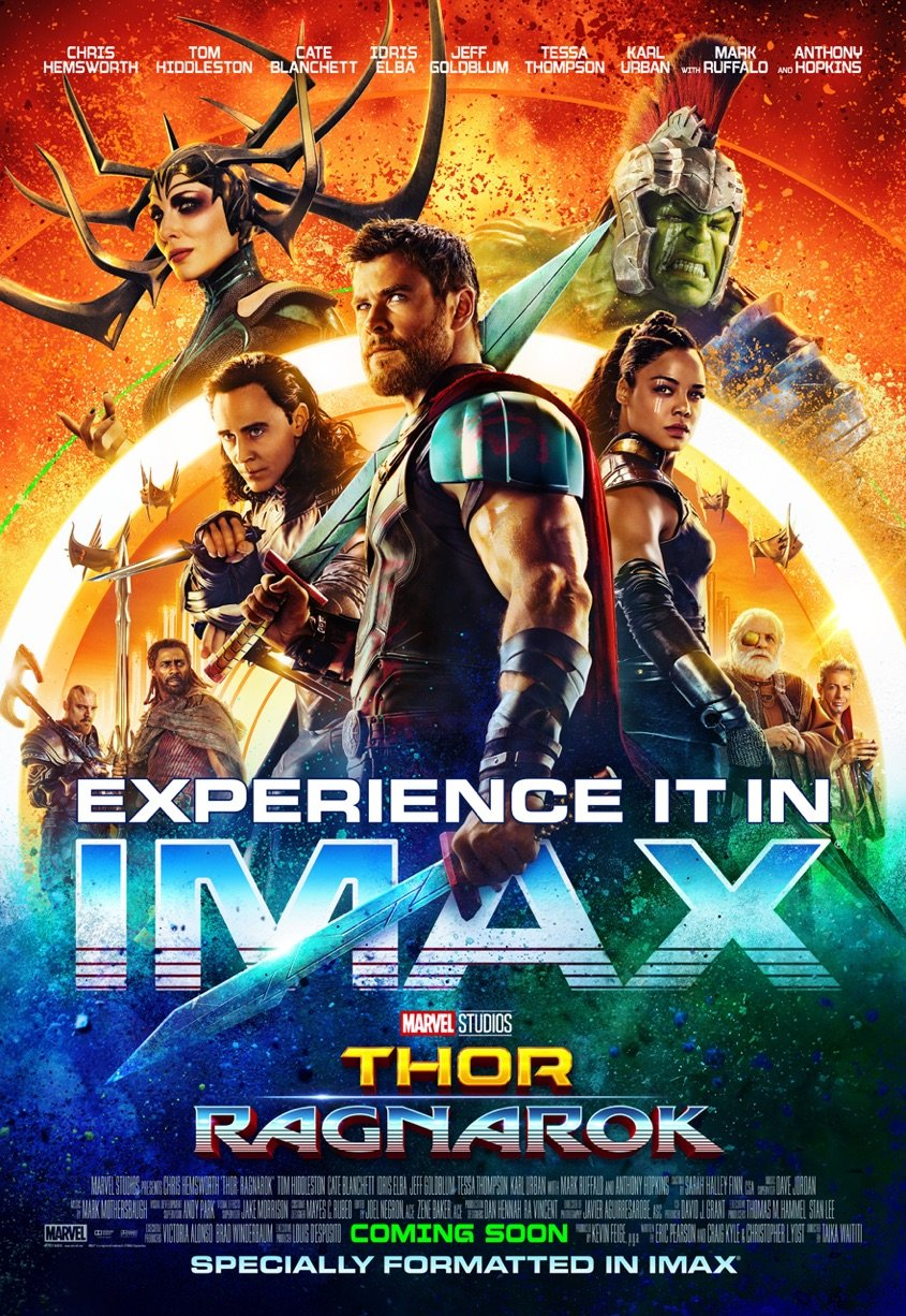 THOR 3- IMAX Poster
