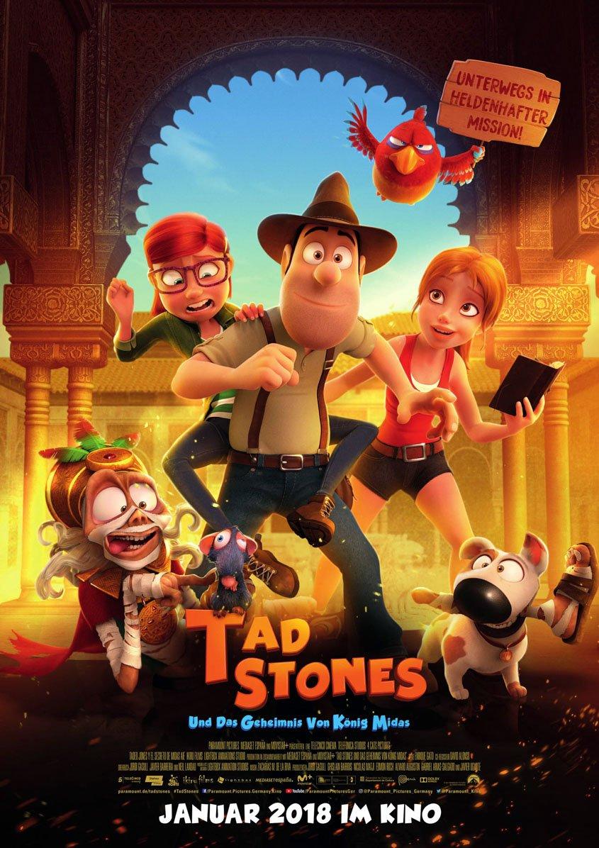 Tad Stones und das Geheimnis von König Midas - Plakat