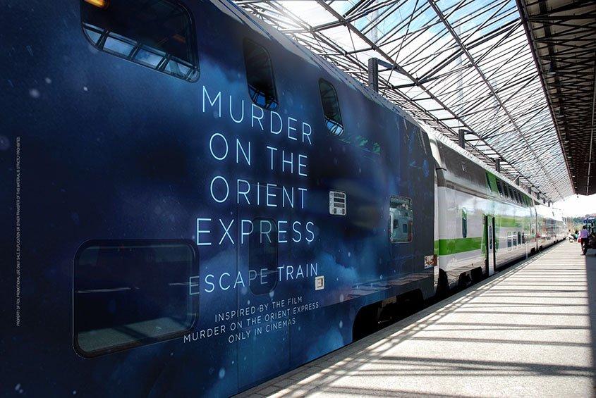 VR- Escape Train- Mord im Orient Express