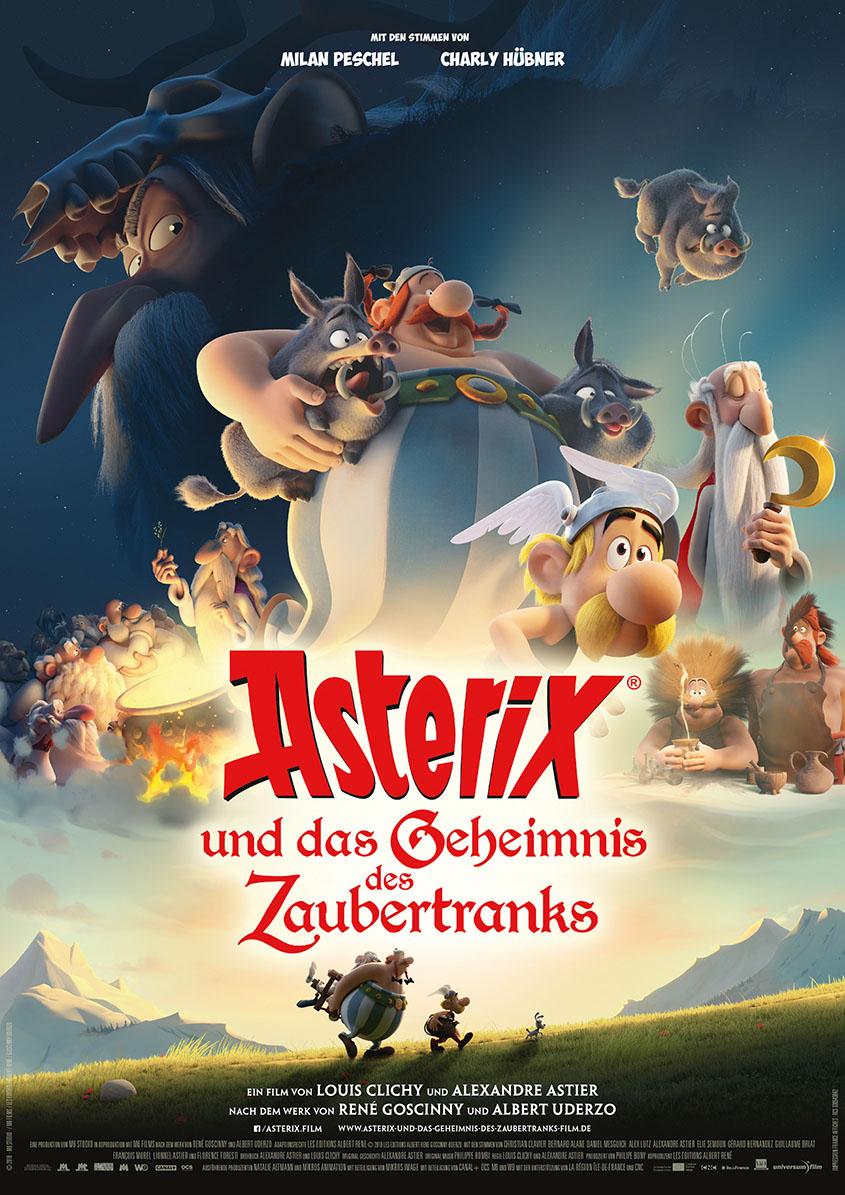Asterix und das Geheimnis des Zaubertranks-Plakat