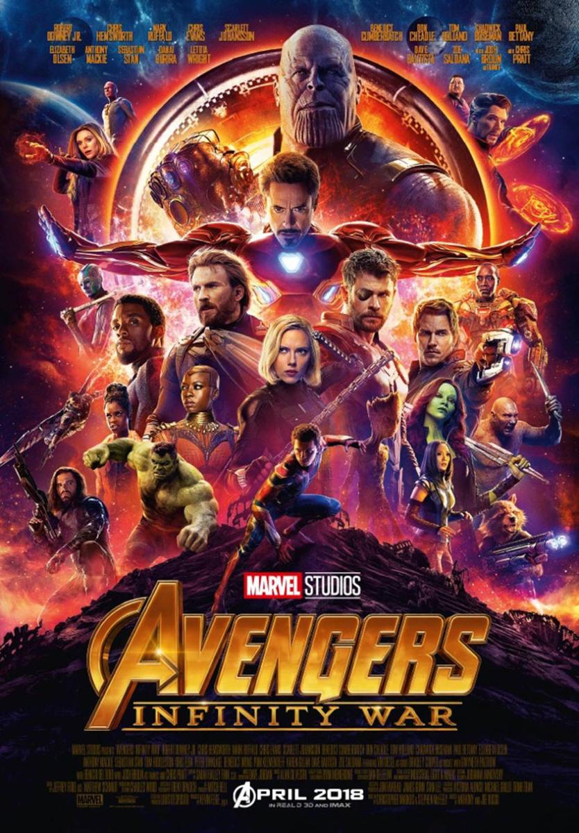 Avengers- Infinity War - Plakat