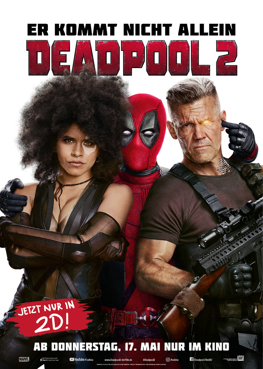 Deadpool 2- Plakat