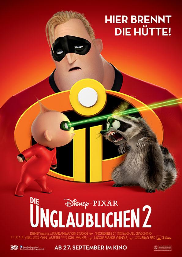 Die Unglaublichen 2- Plakat