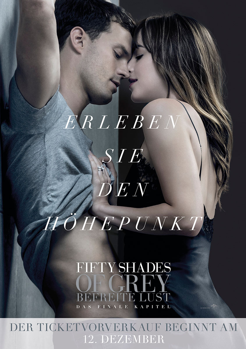 Fifty Shades of Grey- Befreite Lust- Plakat