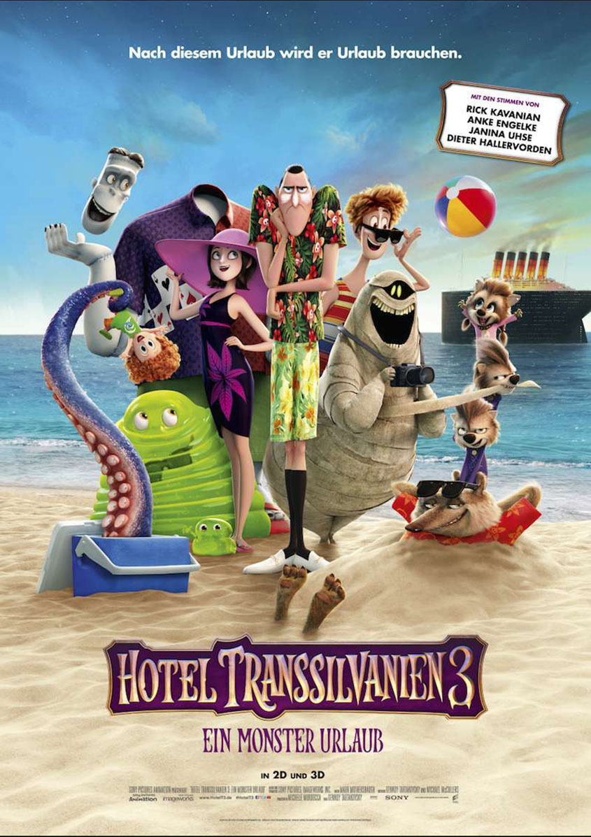 Hotel Transsilvanien- ein Monster Urlaub - Plakat