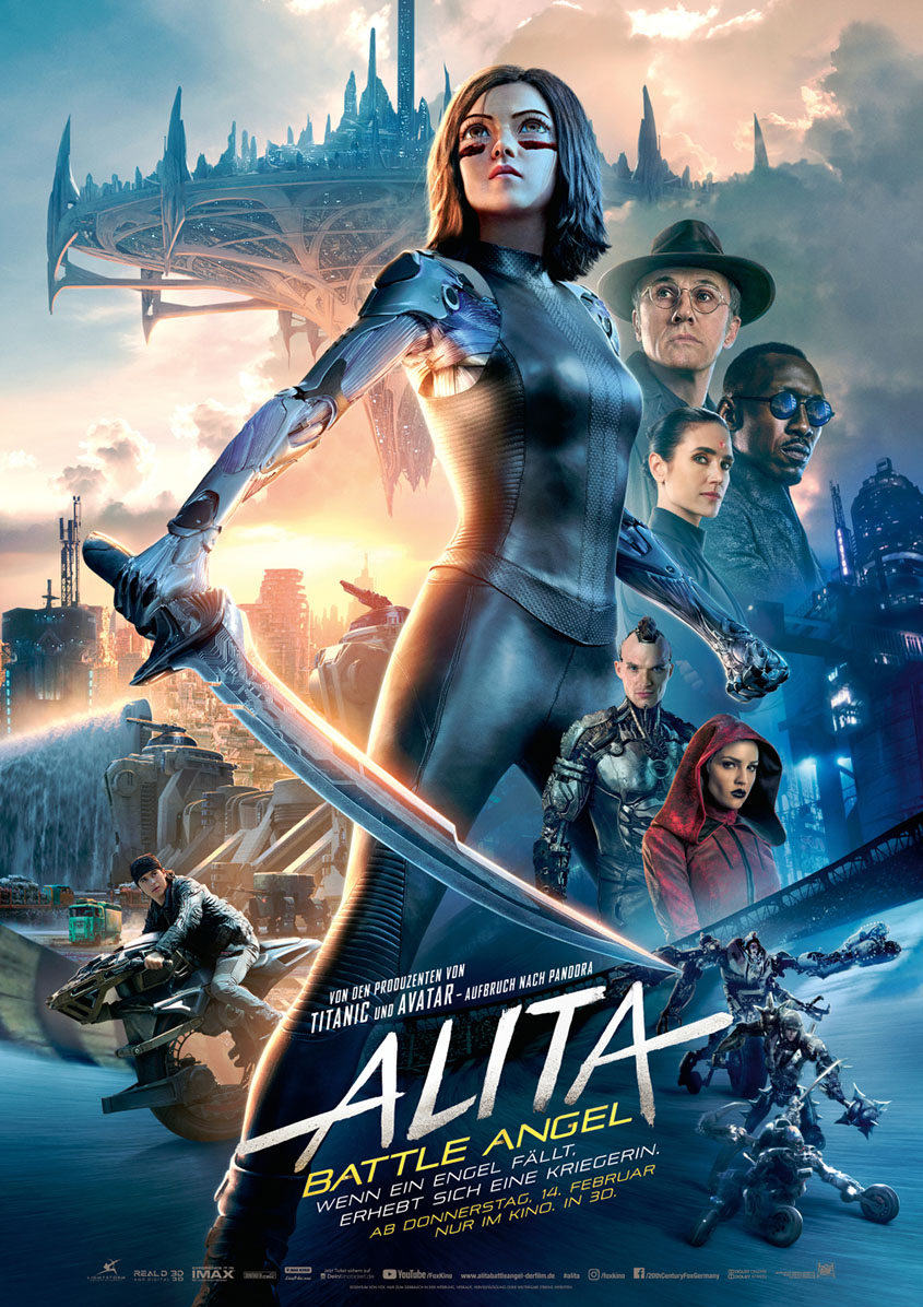 Alita Battle Angel- Plakat