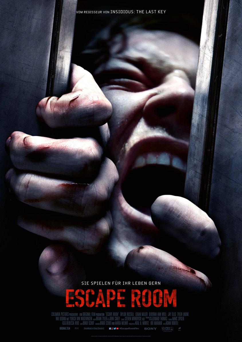 Escape Room-Plakat