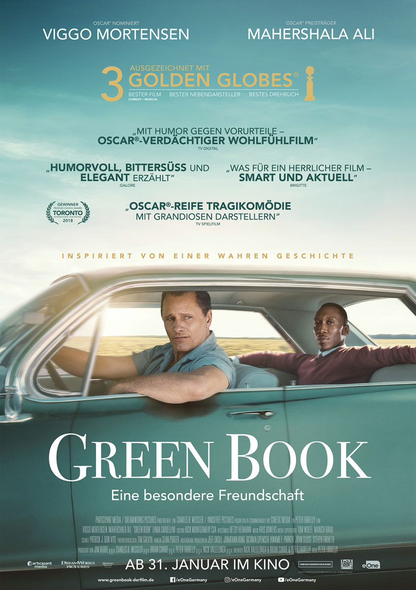 Green Book-Plakat