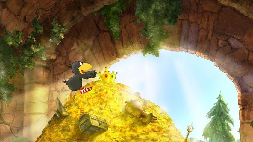 Der kleine Rabe Socke 3- Szenenbild