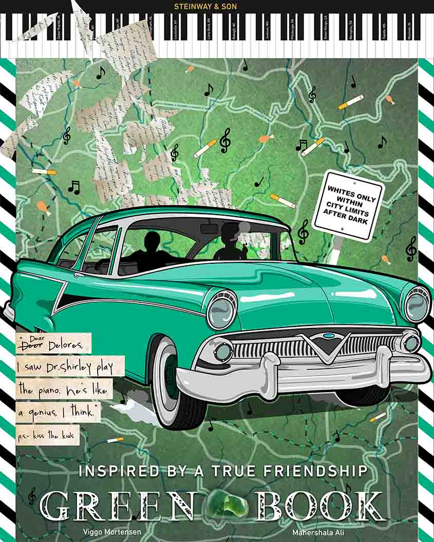 Green Book, inspired by Tony Fitzpatrick