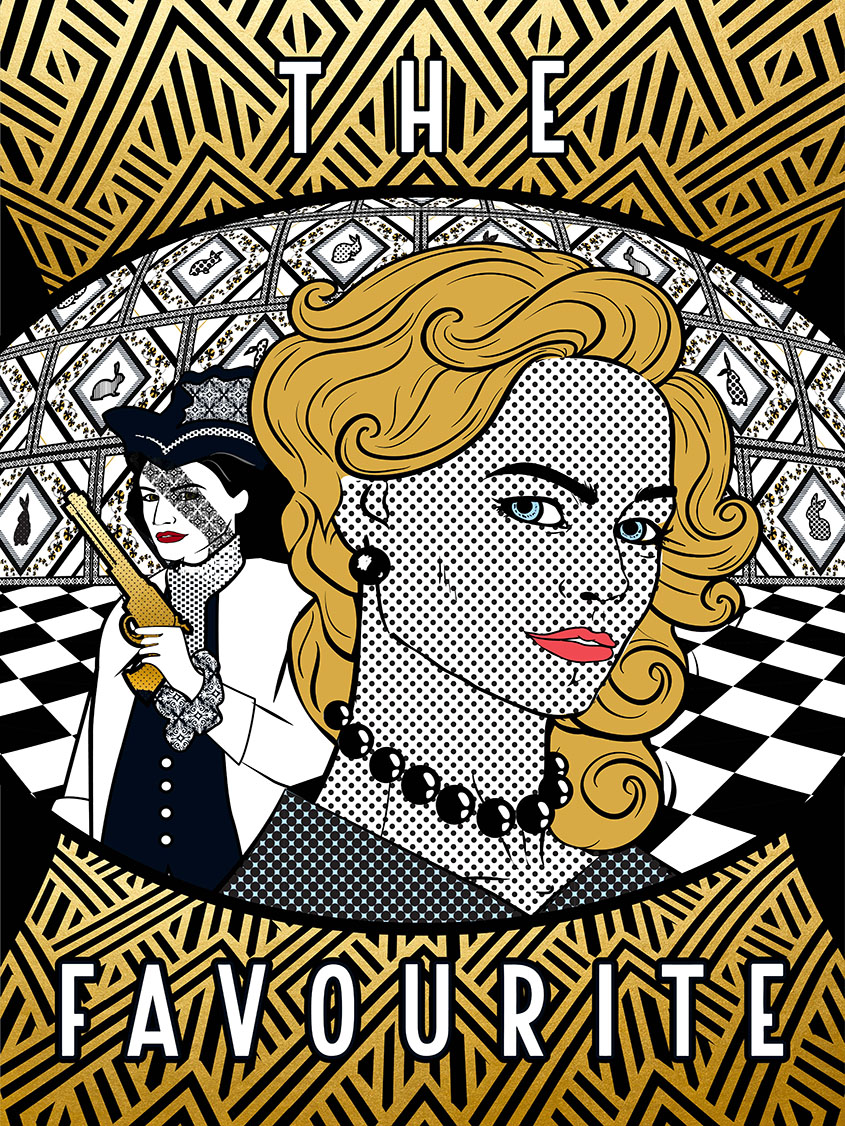 The Favourite, inspired by Roy Lichtenstein
