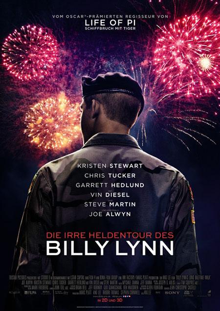 Die irre Heldentour des Billy Lynn-Plakat
