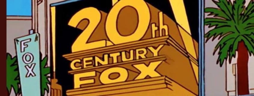 Fox Disney Simpsons