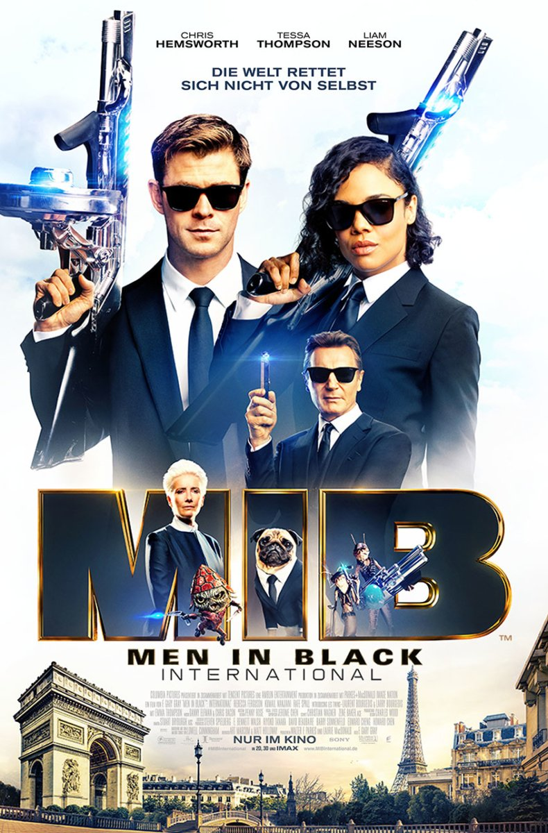Men in Black- Teaserplakat 2