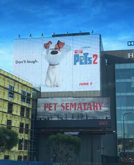 Pets 2 -Werbung