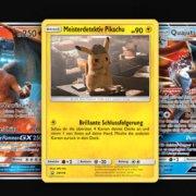 Pikachu-Sammelkarte