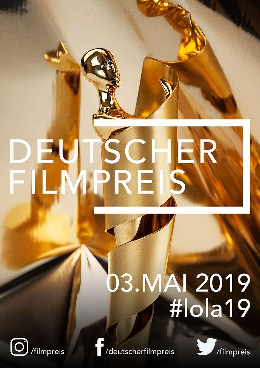 Deutscher Filmpreis 2019 -Plakat