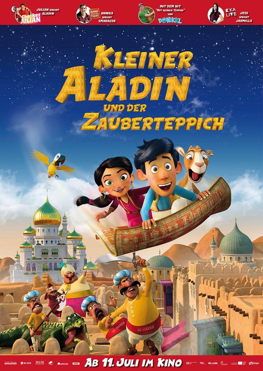 Kleiner Aladin und der Zauberteppich -Plakat