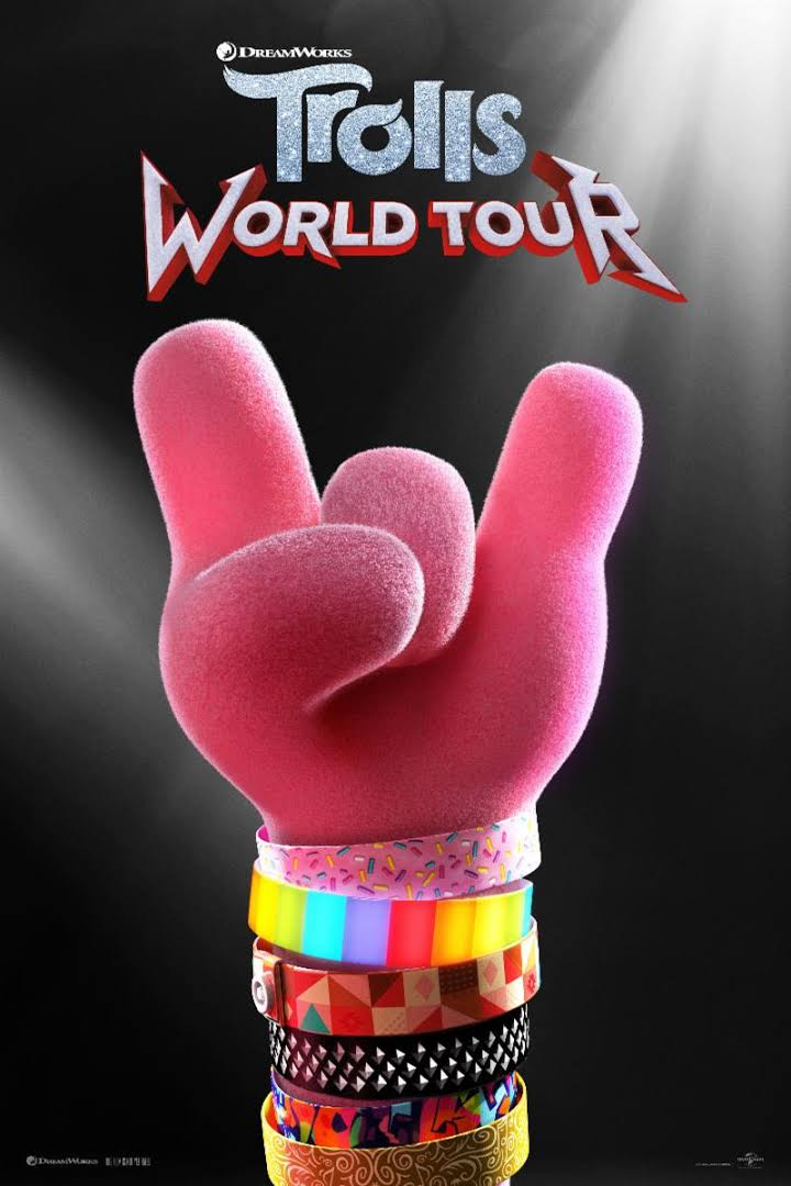 Trolls 2 - World Tour - Plakat