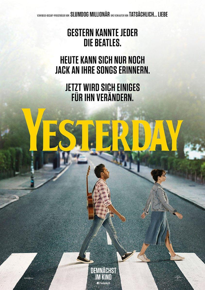 Yesterday- Plakat