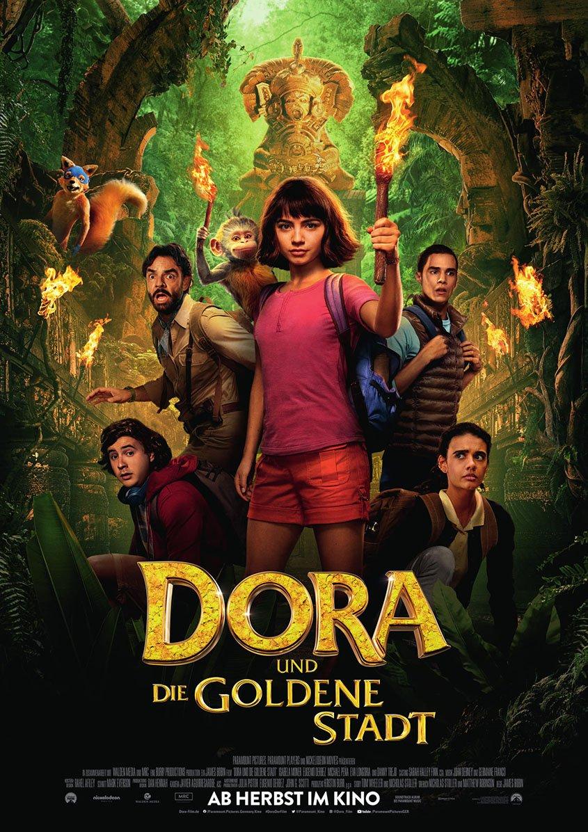 DORA UND DIE GOLDENE STADT- Plakat