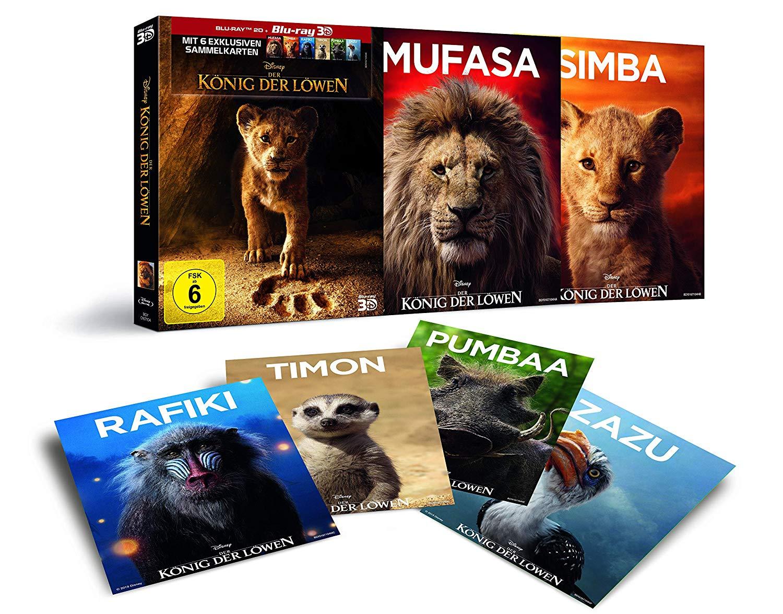 Der König der Löwen - Blu-ray 3D -Sammelkarten