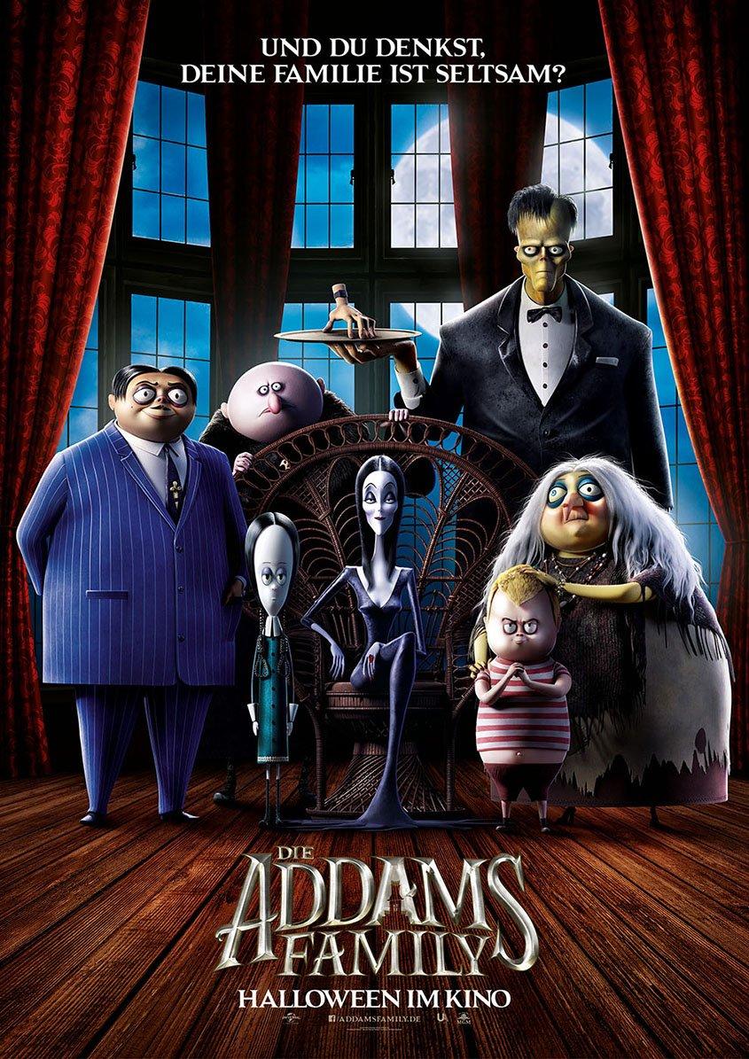 Die Addams Family -Plakat