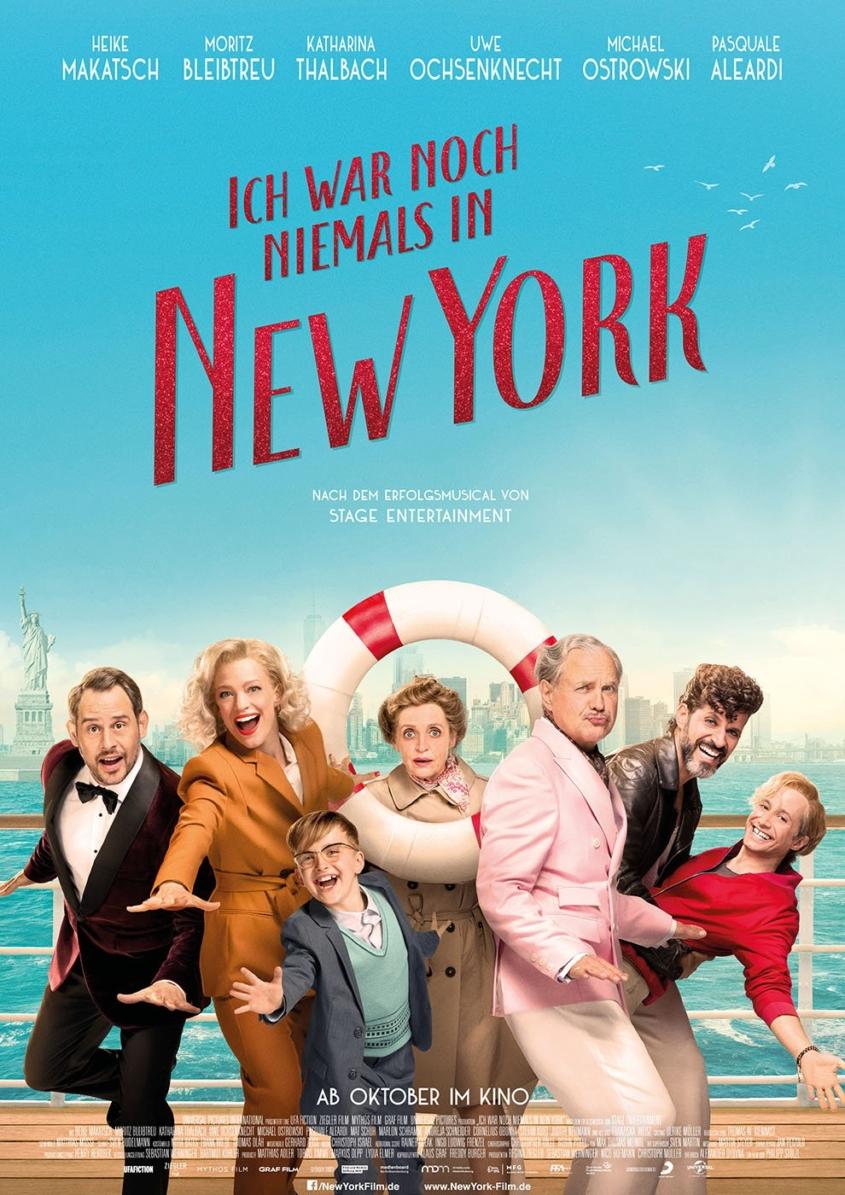 Ich war noch niemals in New York - Plakat