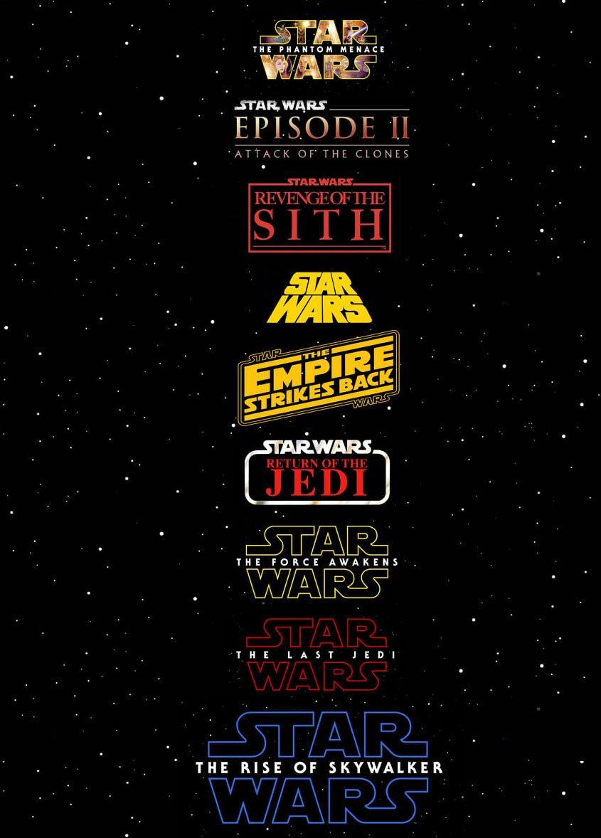 Star Wars-Marathon alle Filme - Episode 1 bis 9