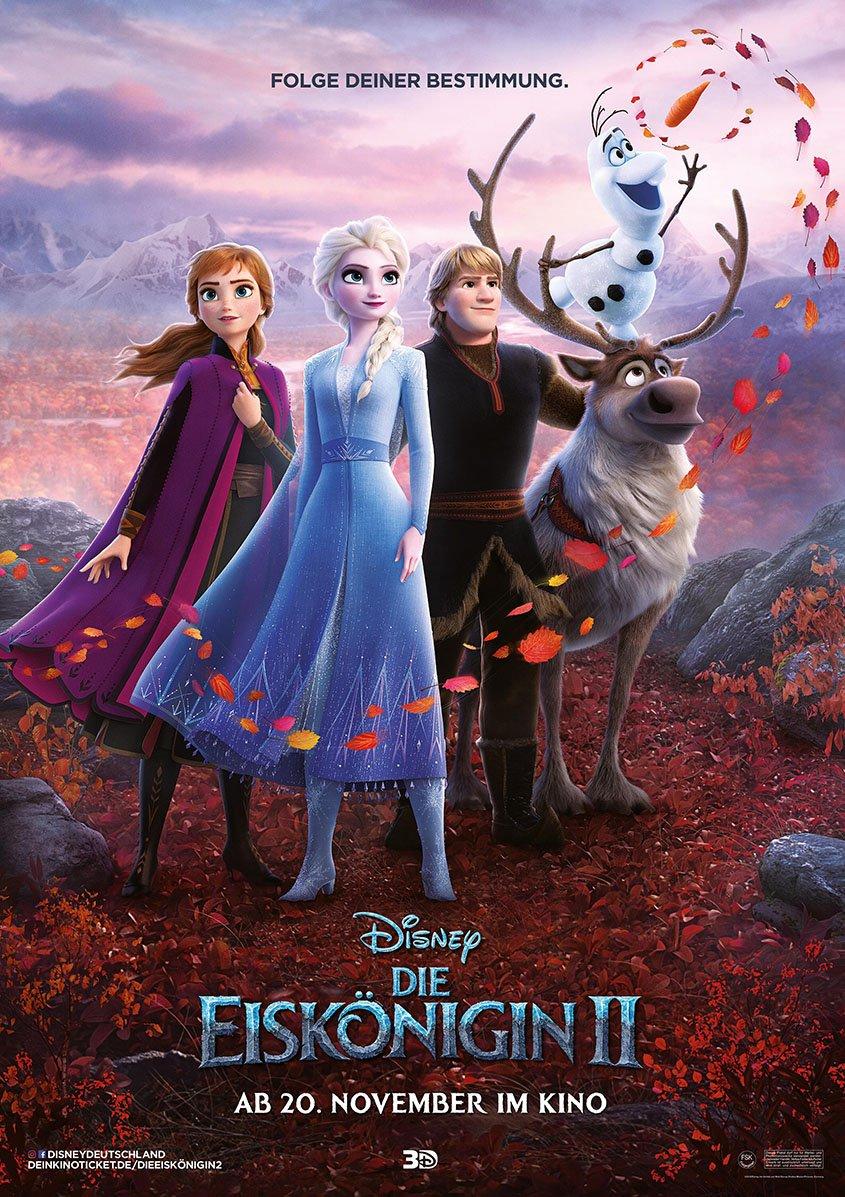 Die Eiskönigin 2 - Plakat