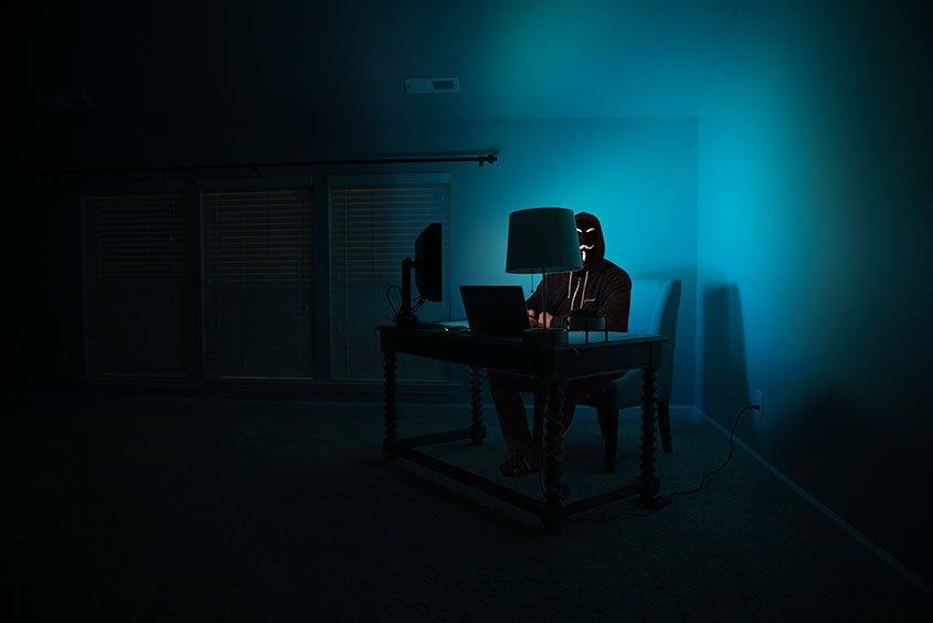 Hacker- Symbolbild