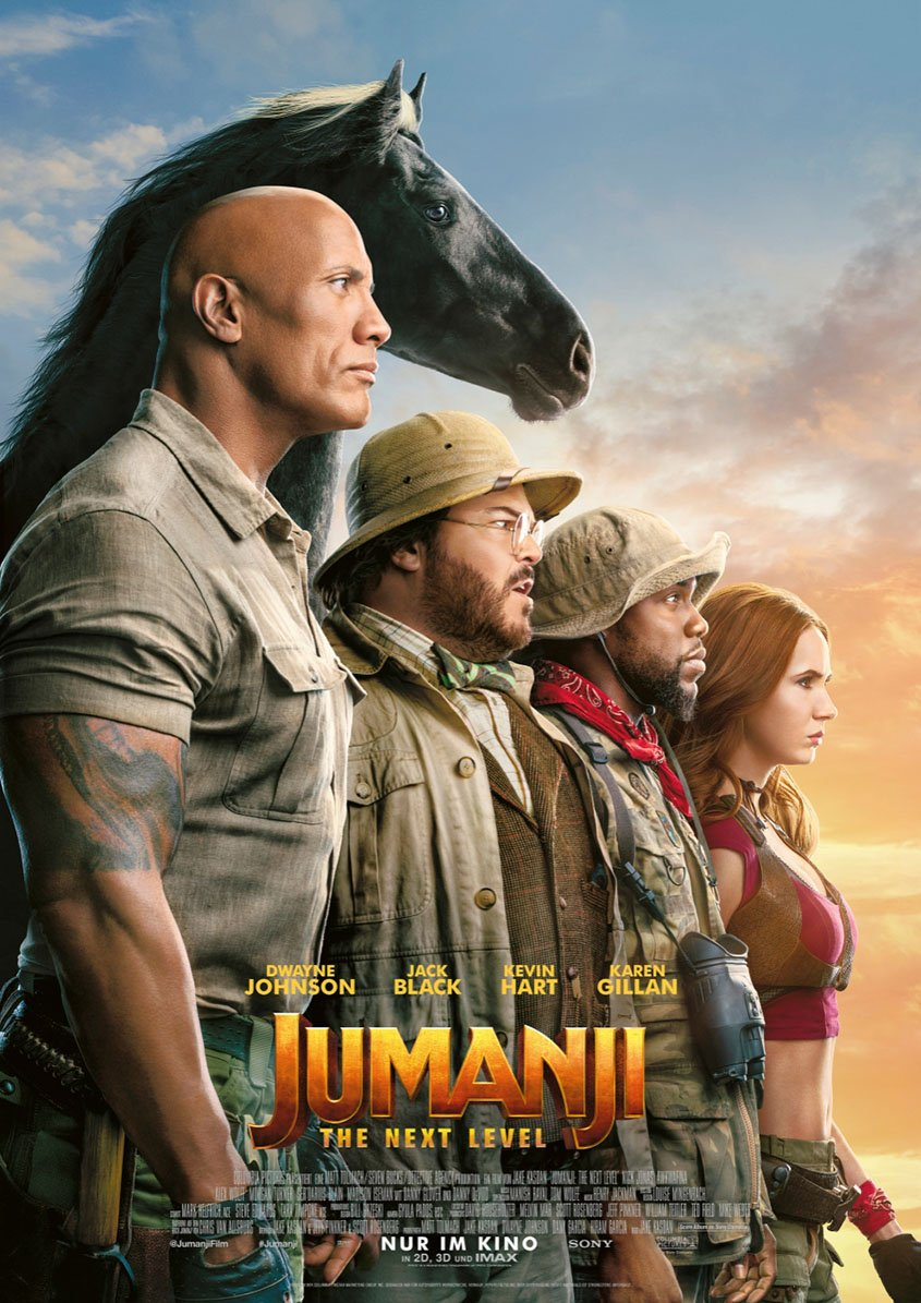 Jumanji- The Next Level - Plakat