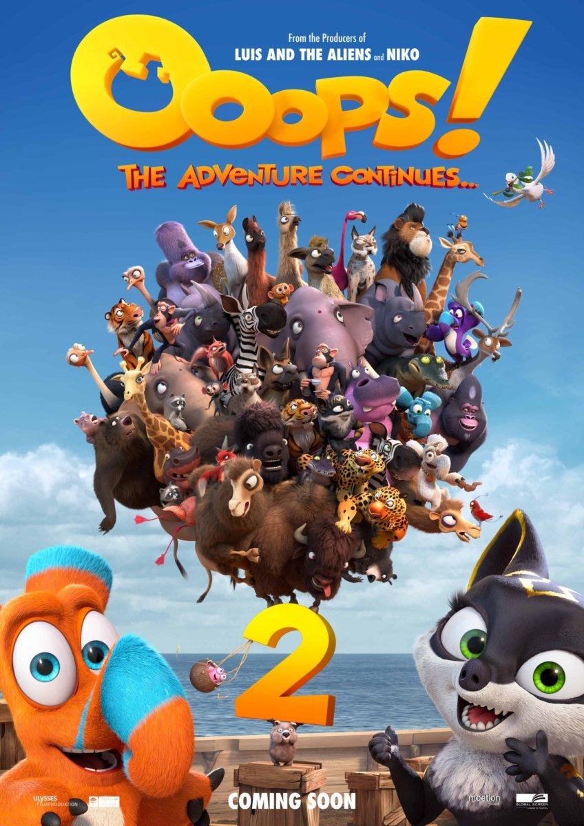 Ooops - Die Arche ist weg 2 -Teaser- Plakat