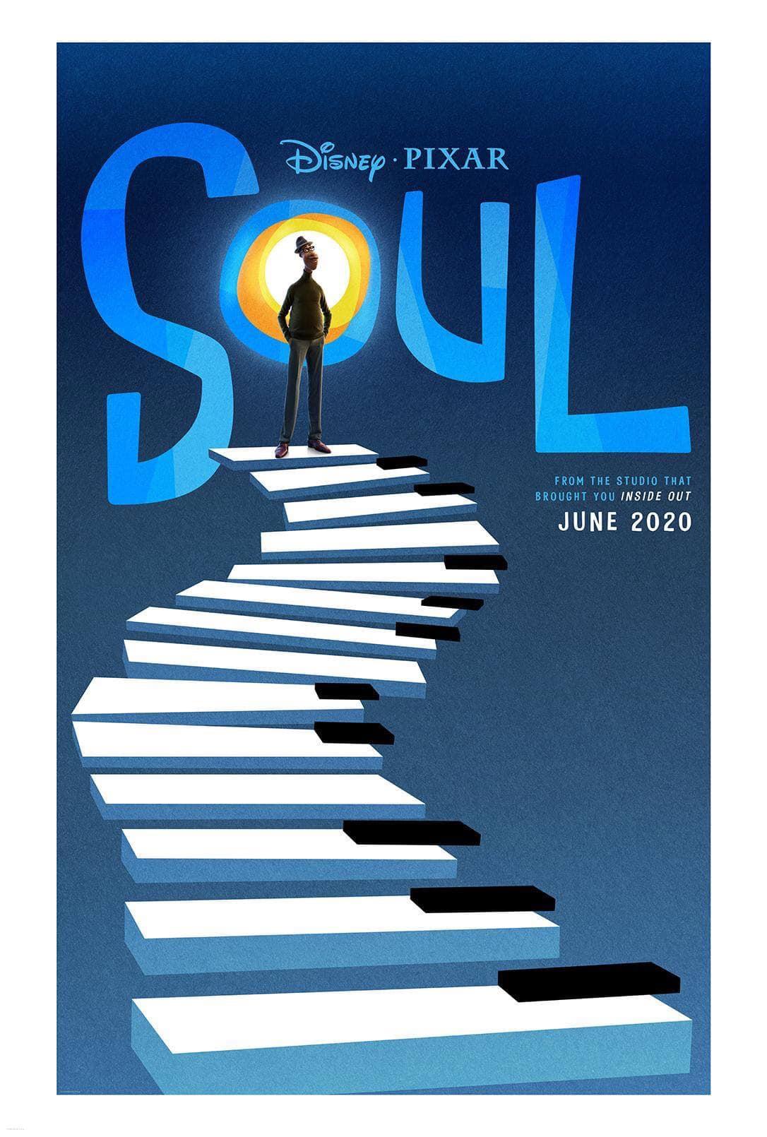 Soul Pixar- Plakat