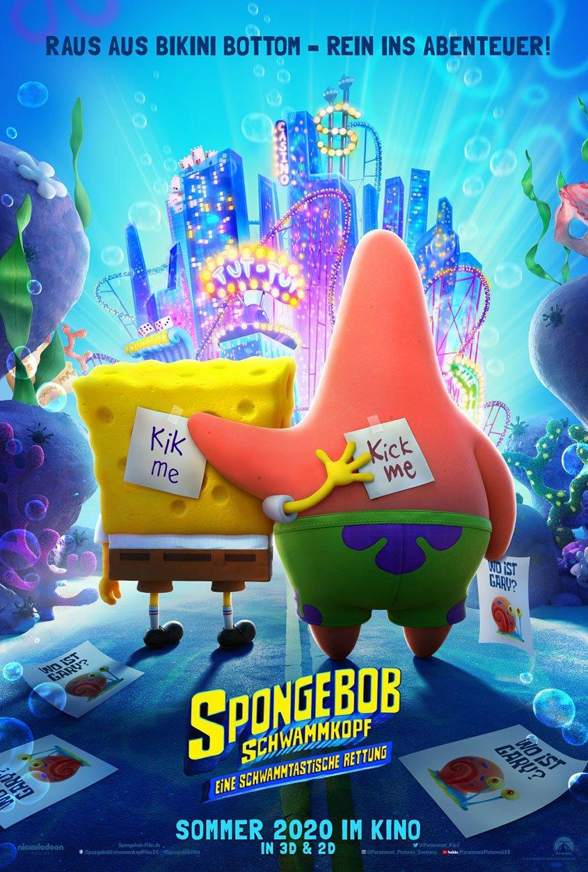 Spongebob Schwammkopf- Eine schwammtastische Rettung - Plakat
