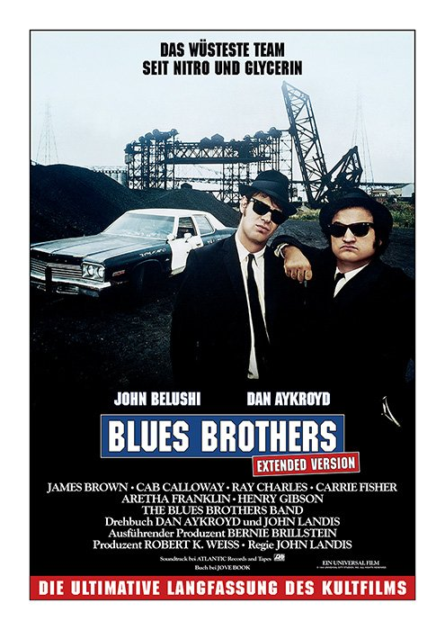 BluesBrothers-ExtendedVersion_Plakat